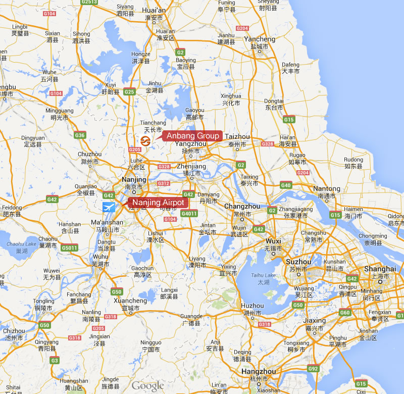 Our Map Location CONTACT US Heat Tracing Cable Suppliers - Cixi map