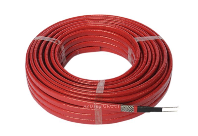 Cable Heating Systems : Medium temperature self regulating heating cable red